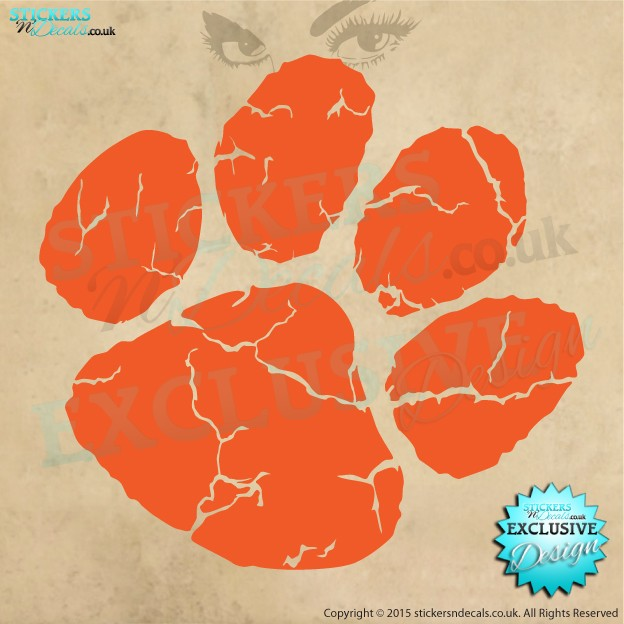 Ed Sheeran - Paw Print - Vinyl Wall Art - Wall Decal - Window Sticker - Vinyl Graphic - Wall Decor
