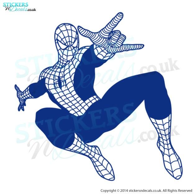 Marvel Avengers Superhero - Spiderman - Character Wall Art - Childrens Wall Decor - Vinyl Wall Decal - Window Sticker