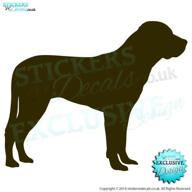 Greater Swiss Mountain Dog - Car Decal - Bumper Sticker - Window Graphic - Door Decal - Wall Art