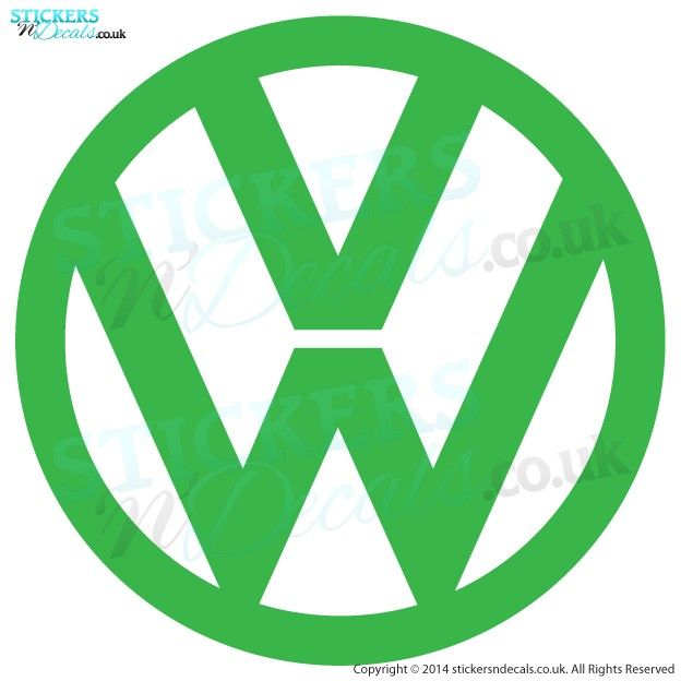 Volkswagon VW Logo - Car Sticker - Car Decal - Window Sticker - Wall Art - Wall Decal - Vinyl Graphic