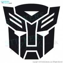 Transformers Autobot Logo - Vinyl Wall Art - Wall Decal - Childrens Wall Decor - Window Graphic - Car Sticker