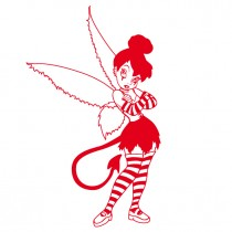 Disney - Naughty Gothic Tinkerbell - Vinyl Wall Art - Wall Decal - Window Sticker - Disney Wall Decor