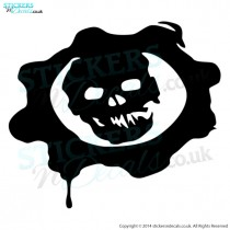Gears Of War Logo Sticker
