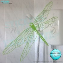 Diamond Dragonfly - Vinyl Wall Art - Vinyl Wall Decal - Window Sticker - Car Graphic