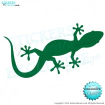 Gecko - Vinyl Wall Art - Vinyl Wall Decal - Wall Decor - Window Sticker - Car Decal - Vehicle Graphic
