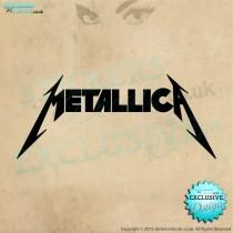 Metallica Logo - Vinyl Wall Art - Wall Decal - Vinyl Sticker - Window Graphic - Wall Decor