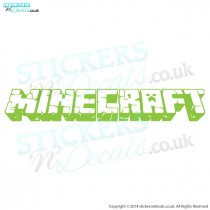 Minecraft Logo Wall Decal