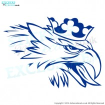 Scania Eagle Head - Vehicle Graphic - Truck Decal - Window Sticker - Bumper Sticker - Lorry Graphic