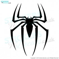 Marvel Avengers Spiderman - Spider Logo - Vinyl Wall Art - Window Graphic - Car Decal - Door Sticker