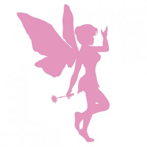 Make A Wish Come True Fairy - Vinyl Wall Art - Wall Decal - Window Sticker - Car Graphic - Wall Decor